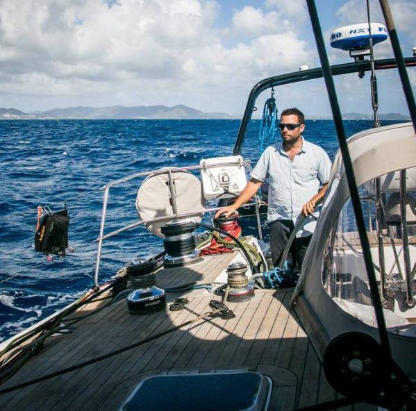Christophe LifeSong sailing capitaine