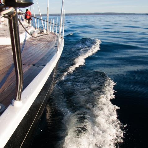 Navigation dans le Golfe