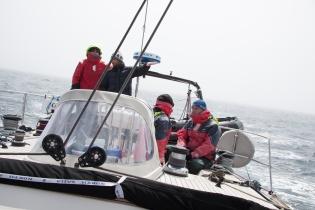 L'équipe en grande navigation