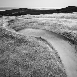 Sur glacier, Île de Disko