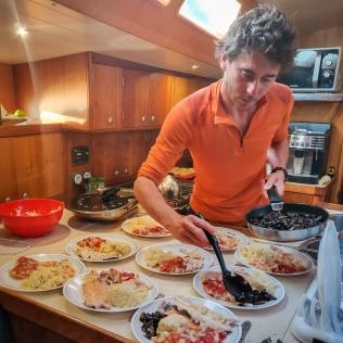 Des repas gastronomiques préparés avec soins