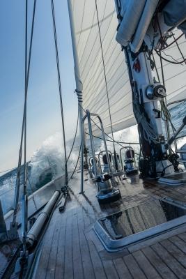 Navigation en Baie de Disko